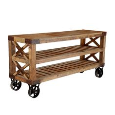 Wisteria - Furniture - Shop by Category - Consoles & Buffets - Recycled Pine Console