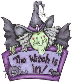 Awesome witch, need a sign like this Retro Halloween, Halloween Imagem, Halloween Rocks, Halloween Clipart, Halloween Pictures, Halloween Cards, Holidays Halloween, Halloween Themes, Happy Halloween
