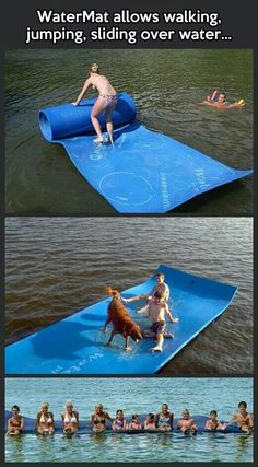 Water mat! I want this!
