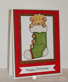 Card by Lesley from Always Playing with Paper. Digital Stamp by Whimsy and Stars Studio / Mabelle RO