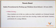 Safety Procedures Tips (tip 18)