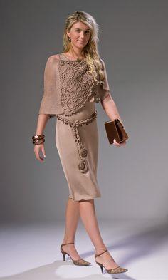 MELI BONDRE Irish crochet dress