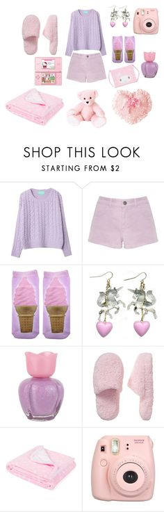 """""""Girl's day"""" by sweetpasteldream ❤ liked on Polyvore featuring Accessorize, Forever 21, Old Navy, Zara Home, Hello Kitty and Fujifilm"""