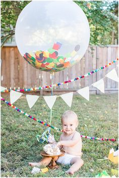 SF Bay Area Lifestyle Photography | Baby's First Birthday | Cake Smash | Family Portrait | Blueberry Photography