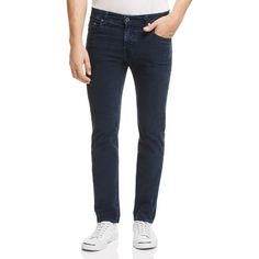 Ag Matchbox Corduroy Slim Straight Pants ($198) ❤ liked on Polyvore featuring men's fashion, men's clothing, men's pants, men's casual pants, sulfur midnight shadow, mens slim fit corduroy pants, mens corduroy pants, mens slim pants and mens slim fit pants