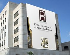 """Check out new work on my @Behance portfolio: """"Advertising Saint Giles beer."""" http://be.net/gallery/35557943/Advertising-Saint-Giles-beer"""