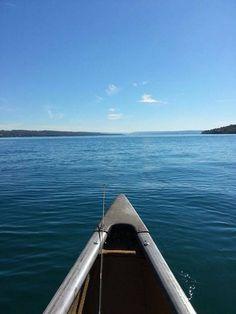 On Skaneateles Lake