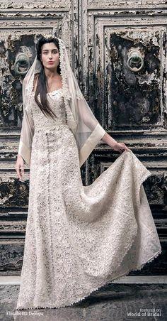 Elisabetta Delogu 2016 Wedding Dress #wedding #dresses #bridal #gown #dress #ElisabettaDelogu