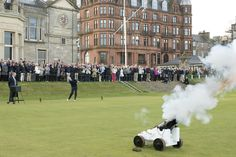 NEW CAPTAIN DRIVES IN  The traditional driving-in ceremony for the new Captain of The Royal and Ancient Golf Club of St Andrews took place on the 1st tee of the Old Course today.  Keith Macintosh began his year in office with a drive at precisely 8am as a cannon fired alongside the tee. A large crowd of onlookers gathered to watch the ceremony along with a number of Past Captains of the Club.  As Captain Mr Macintosh will represent The R&A and support its work in developing golf around the…