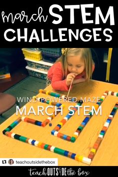 Patrick's Day STEM Challenges (March) by Brooke Brown – Teach Outside the Box St. Patrick's Day and spring themed Low Prep STEM Challenges for March Lego Activities, Indoor Activities, Toddler Activities, After School Club Activities, Transportation Activities, Physical Activities For Kids, Toddler Games, Lego Games, Motor Skills Activities