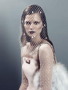 Kasia Struss for Antidote Magazine F/W 2013 The Paris Issue