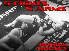 Ronda Rousey and her beautiful arm bar.