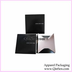 Our two-piece apparel boxes store flat to save on space. Easy setup: just pop up the top and bottom, and the box is ready to be used. These Black  apparel boxes have a mass/gloss finish.Custom Apparel Boxes,Printing Paper Clothing Boxes(Foldable and Flat Packaging),Apparel Paper Box,Apparel Boxes,