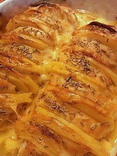 un petto di pollo in un modo diverso, farcito con patate e fontina ed il risultato è stato fantastico!