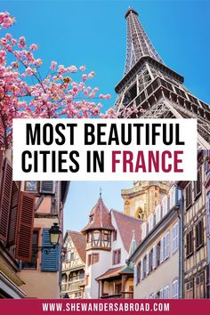 Are you looking for the best cities to visit in France beside Paris? Here's the ultimate list about the most beautiful cities in France you can't miss! | France travel tips | France travel guide | Best cities in France | Prettiest cities in France | Top cities in France | Best places to visit in France | What to see in France | Travel in France | French cities | Best cities in South of France | France vacation guide | List of France cities | Paris | Nice | Bordeaux | Marseille | Lyon… France City, South Of France, Beautiful Castles, Most Beautiful Cities, Paris Nice, Visit France, Medieval Town, Best Cities, France Travel
