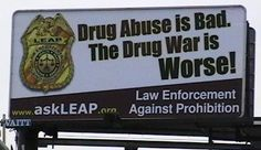 Although the US has 5% of the world's population, they hold 25% of the world's prison population, largely as a result of the drug war.    Visit www.askleap.com