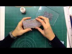 Scrapbook para principiantes 4: Parte I, tutorial tipos de etiquetas y tags. Scrapbooking ideas - YouTube