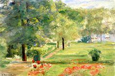 Flower Terrace, Wannsee Garden to the East Max Liebermann - 1923