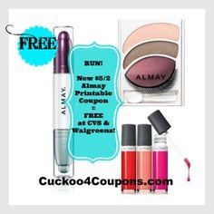 *HOT* $5/2 Almay Coupon = FREE at CVS & Walgreens!
