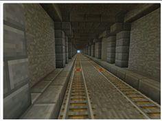 Minecraft underground tunnel