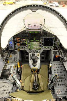 Cockpit of a RAF Eurofighter Typhoon [28324256]