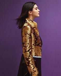 Photography: Hyea W. Kang.Styled by: Kihoh Sohn. Hair: Marki Shkreli. Makeup: Yumi Lee.Model: Kendall Jenner.