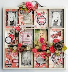 I AM IN LOVE with these photo trays.
