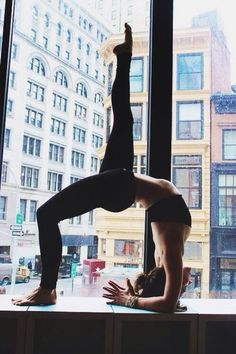 I'm still not that flexable