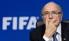 Federation Internationale de Football Association president Blatter says he was near death in hospital