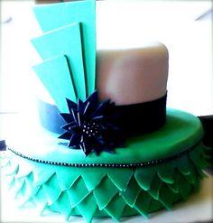 nBluf Flapper Theme Cake