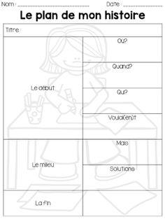 Le cahier de Pénélope: Mes 5 étapes pour enseigner le récit Modèle de feuille gratuit www.lecahierdepenelope.com