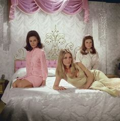 """Sharon, Barbara Parkins, and Patty Duke from """"Valley Of The Dolls"""""""