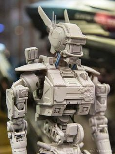 CHAPPIE Prototype Action Figure by Threezero (Seen @ #ToySoul 2014)