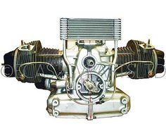 Engine, 2cv6, re-conditioned, exchange.