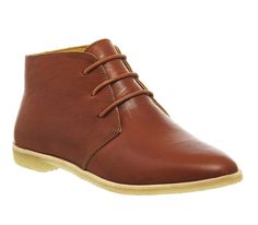 Clarks Originals Phenia Desert Boot Tan Leather - Ankle Boots