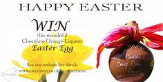Enter our #Easter #Competition to #Win a wonderful Grown up Easter Egg