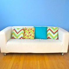 Envelope Pillow Cover Tutorial - all sizes - Easy PDF Sewing Pattern by Tie Dye Diva Patterns