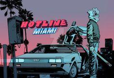 Hotline Miami by JonasScharf.deviantart.com on @DeviantArt