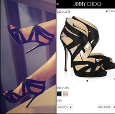 Jimmy Choo Collar Platform ($1,025.00)  (I loathe when people claim fashion is their life but don't know brands or how to fact check LOL... But for the record, I've seen this shoe ALL over Pinterest with the WRONG label.. These are not Louboutin (yes people have claimed these as such even in the absence of a red sole smh lol) , these are not Dior, not Gucci, & not Giuseppe...) people have inquired the brand and cost and well, now Ya Know..