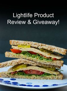 Lightlife Product Review & Giveaway! Lightlife Meatless Veggie Turkey Slices Review and win FREE product coupons to try them yourself! #lightlife #productreview #vegandelimeat #veganturkey #meatless #vegan #dairyfree #vegetarian #giveaway