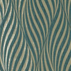 Tulie Teal Blue curtain fabric from Ashley Wilde Botinia Collection with woven pattern creating an optical illusion effect. Material: 100% polyester. Fabric width: 137cm. Pattern repeat: 43cm. Not suitable for upholstery. Dry clean only.