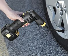 Automatic Cordless Tire Inflator «Craziest Gadgets