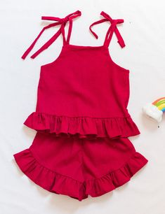Babydoll Lingerie, Toque, Baby Dolls, Cami, Rompers, Outfits, Dresses, Style, Red Blouses