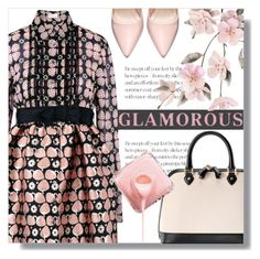 """""""Glamour"""" by cilita-d ❤ liked on Polyvore featuring RED Valentino and Aspinal of London"""