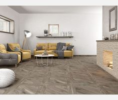 Kanna Ceniza Porcelain Floor Tile Tiles from - Tons of Tiles Wood Effect Floor Tiles, Wall And Floor Tiles, Oak Parquet Flooring, Taupe Walls, Porcelain Floor, Entrance Hall, Natural Wood, Living Area, Mountain