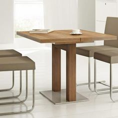 Its always good for your dining table to transform into a larger one when needed.