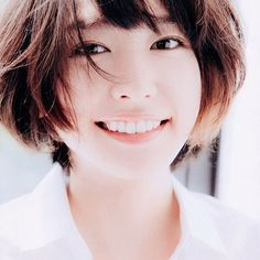 "the-other-side-of-summer: "" 新垣結衣 "" Japanese Eyes, Cute Japanese, Japanese Beauty, Asian Beauty, Asian Short Hair, Girl Short Hair, Beautiful Morning, Beautiful Eyes, Divas"