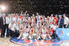 Tournament MVP Pau Gasol had a double-double as Spain cruised past Lithuania Sunday to regain the European basketball championship title. Welcome Home, Lithuania, Dolores Park, Cruise, Concert, Campione, Basket, Socialism, Leadership