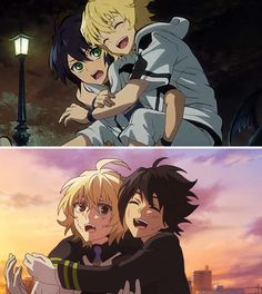 I love this show! Brothers not by blood but by trial and circumstances drawing them together. Yuu is the only family Mika has left!