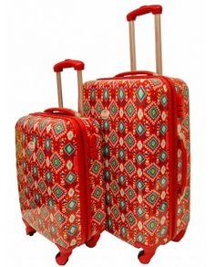 Jgo. de 2 trolleys serie sahara, Flamenco.
